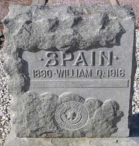 SPAIN, WILLIAM Q. - Maricopa County, Arizona | WILLIAM Q. SPAIN - Arizona Gravestone Photos