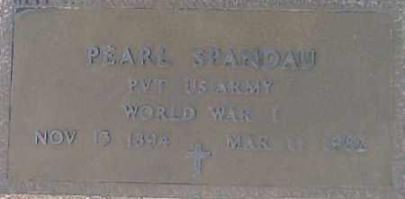 SPANDAU, PEARL - Maricopa County, Arizona | PEARL SPANDAU - Arizona Gravestone Photos