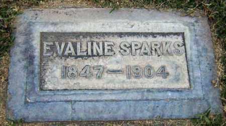 SPARKS, EVALINE - Maricopa County, Arizona   EVALINE SPARKS - Arizona Gravestone Photos