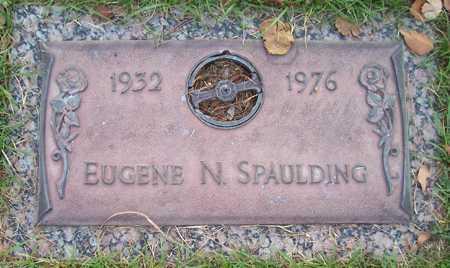 SPAULDING, EUGENE N. - Maricopa County, Arizona | EUGENE N. SPAULDING - Arizona Gravestone Photos