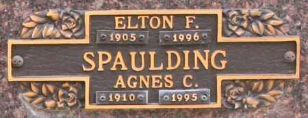 SPAULDING, ELTON F - Maricopa County, Arizona | ELTON F SPAULDING - Arizona Gravestone Photos