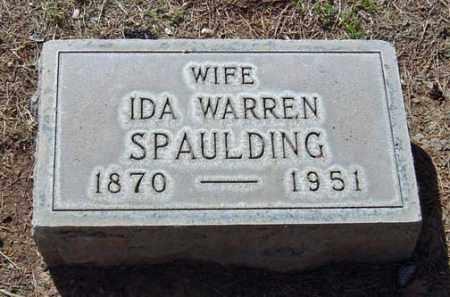 SPAULDING, IDA - Maricopa County, Arizona | IDA SPAULDING - Arizona Gravestone Photos