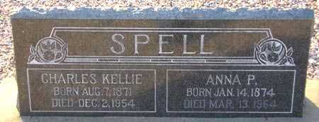 SPELL, CHARLES KELLIE - Maricopa County, Arizona   CHARLES KELLIE SPELL - Arizona Gravestone Photos