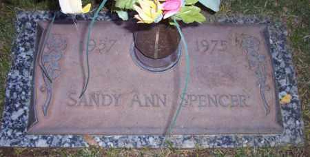 SPENCER, SANDY ANN - Maricopa County, Arizona | SANDY ANN SPENCER - Arizona Gravestone Photos