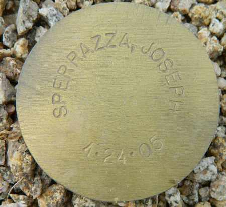 SPERRAZZA, JOSEPH - Maricopa County, Arizona | JOSEPH SPERRAZZA - Arizona Gravestone Photos