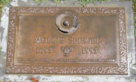 SPIEGEL, MOLLIE - Maricopa County, Arizona | MOLLIE SPIEGEL - Arizona Gravestone Photos
