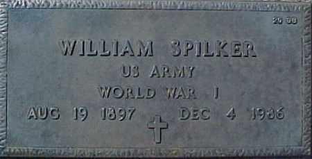 SPILKER, WILLIAM - Maricopa County, Arizona | WILLIAM SPILKER - Arizona Gravestone Photos