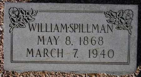 SPILLMAN, WILLIAM - Maricopa County, Arizona | WILLIAM SPILLMAN - Arizona Gravestone Photos