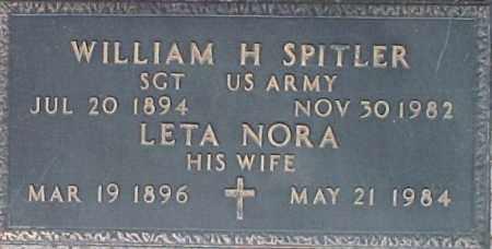 SPITLER, LETA NORA - Maricopa County, Arizona | LETA NORA SPITLER - Arizona Gravestone Photos