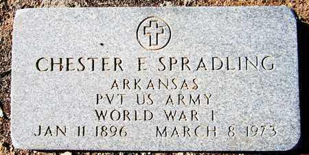 SPRADLING, CHESTER E. - Maricopa County, Arizona   CHESTER E. SPRADLING - Arizona Gravestone Photos