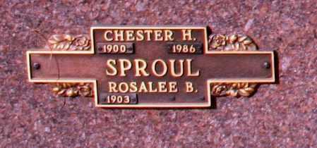 SPROUL, ROSALEE B - Maricopa County, Arizona | ROSALEE B SPROUL - Arizona Gravestone Photos