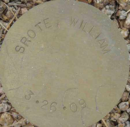 SROTE, WILLIAM - Maricopa County, Arizona | WILLIAM SROTE - Arizona Gravestone Photos