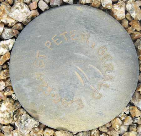 ST. PETER, GERALD E. - Maricopa County, Arizona | GERALD E. ST. PETER - Arizona Gravestone Photos
