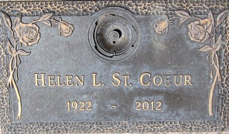 ST. COEUR, HELEN L. - Maricopa County, Arizona | HELEN L. ST. COEUR - Arizona Gravestone Photos