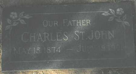 ST JOHN, CHARLES - Maricopa County, Arizona | CHARLES ST JOHN - Arizona Gravestone Photos