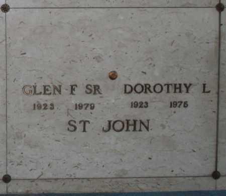 ST JOHN, GLEN F, SR. - Maricopa County, Arizona | GLEN F, SR. ST JOHN - Arizona Gravestone Photos