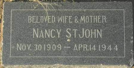 ST JOHN, NANCY - Maricopa County, Arizona | NANCY ST JOHN - Arizona Gravestone Photos