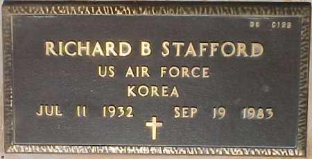 STAFFORD, RICHARD B. - Maricopa County, Arizona | RICHARD B. STAFFORD - Arizona Gravestone Photos