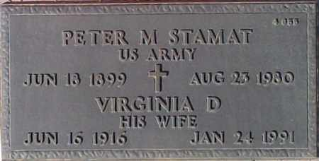 STAMAT, PETER M. - Maricopa County, Arizona | PETER M. STAMAT - Arizona Gravestone Photos