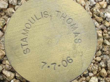 STAMOULIS, THOMAS - Maricopa County, Arizona | THOMAS STAMOULIS - Arizona Gravestone Photos