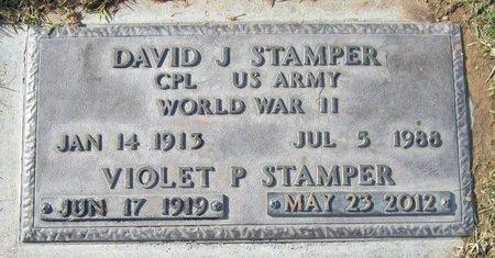 STAMPER, DAVID J. - Maricopa County, Arizona | DAVID J. STAMPER - Arizona Gravestone Photos