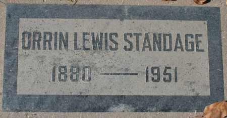 STANDAGE, ORRIN LEWIS - Maricopa County, Arizona   ORRIN LEWIS STANDAGE - Arizona Gravestone Photos