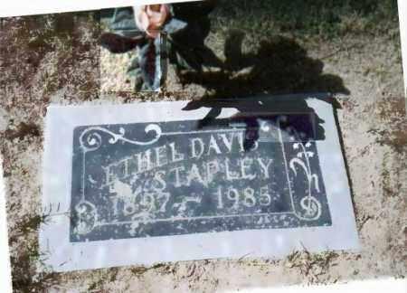 DAVIS STAPLEY, ETHEL BURDETTE - Maricopa County, Arizona | ETHEL BURDETTE DAVIS STAPLEY - Arizona Gravestone Photos