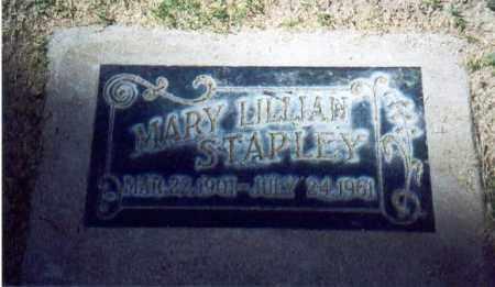 BODINE STAPLEY, MARY LILLIAN - Maricopa County, Arizona | MARY LILLIAN BODINE STAPLEY - Arizona Gravestone Photos