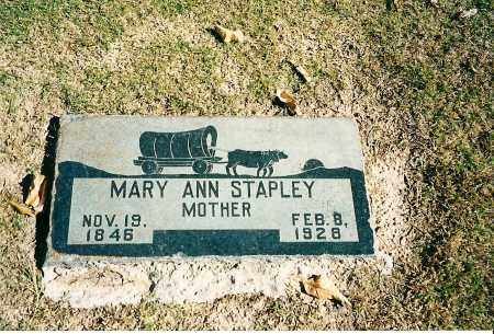 STAPLEY, MARY ANN - Maricopa County, Arizona | MARY ANN STAPLEY - Arizona Gravestone Photos