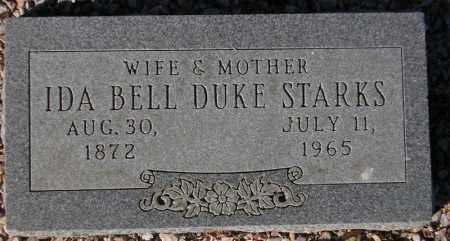 STARKS, IDA BELL DUKE - Maricopa County, Arizona | IDA BELL DUKE STARKS - Arizona Gravestone Photos