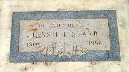 STARR, JESSIE EDWARD - Maricopa County, Arizona | JESSIE EDWARD STARR - Arizona Gravestone Photos