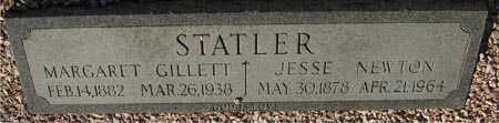 STATLER, MARGARET GILLETT - Maricopa County, Arizona   MARGARET GILLETT STATLER - Arizona Gravestone Photos