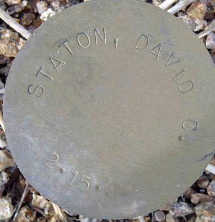 STATON, DAVID C. - Maricopa County, Arizona | DAVID C. STATON - Arizona Gravestone Photos