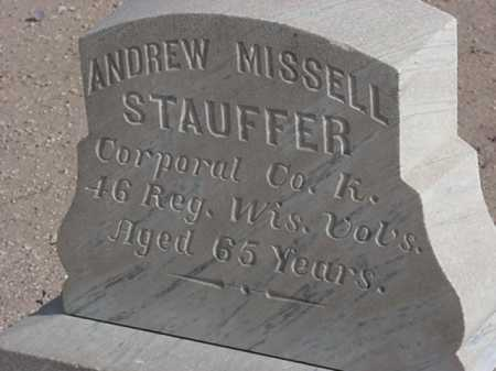 STAUFFER/ MISSELL, ANDREW - Maricopa County, Arizona | ANDREW STAUFFER/ MISSELL - Arizona Gravestone Photos