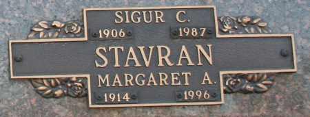 STAVRAN, MARGARET A - Maricopa County, Arizona | MARGARET A STAVRAN - Arizona Gravestone Photos