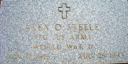 STEELE, ALEX O. - Maricopa County, Arizona | ALEX O. STEELE - Arizona Gravestone Photos