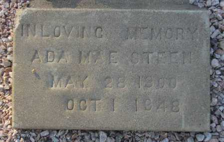 MATHEWS STEEN, ADA MAE - Maricopa County, Arizona | ADA MAE MATHEWS STEEN - Arizona Gravestone Photos