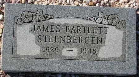STEENBERGEN, JAMES BARTLETT - Maricopa County, Arizona | JAMES BARTLETT STEENBERGEN - Arizona Gravestone Photos