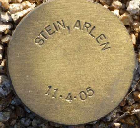 STEIN, ARLEN - Maricopa County, Arizona | ARLEN STEIN - Arizona Gravestone Photos
