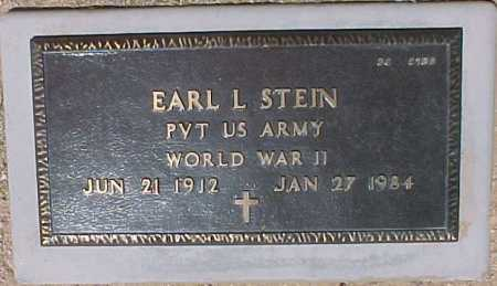 STEIN, EARL L. - Maricopa County, Arizona | EARL L. STEIN - Arizona Gravestone Photos