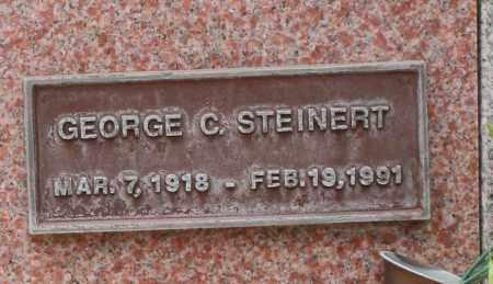 STEINERT, GEORGE C. - Maricopa County, Arizona | GEORGE C. STEINERT - Arizona Gravestone Photos