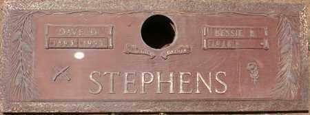 STEPHENS, DAVE D. - Maricopa County, Arizona | DAVE D. STEPHENS - Arizona Gravestone Photos