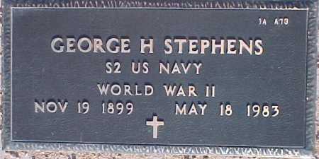 STEPHENS, GEORGE H. - Maricopa County, Arizona   GEORGE H. STEPHENS - Arizona Gravestone Photos