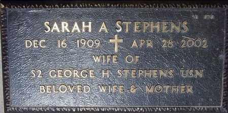 STEPHENS, SARAH A. - Maricopa County, Arizona   SARAH A. STEPHENS - Arizona Gravestone Photos