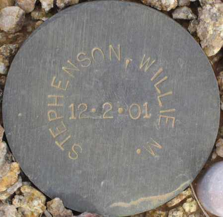 STEPHENSON, WILLIE M. - Maricopa County, Arizona | WILLIE M. STEPHENSON - Arizona Gravestone Photos