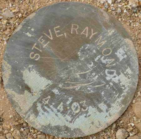 STEVE, RAYMOND - Maricopa County, Arizona | RAYMOND STEVE - Arizona Gravestone Photos