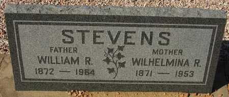 STEVENS, WILLIAM R. - Maricopa County, Arizona | WILLIAM R. STEVENS - Arizona Gravestone Photos