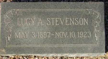 STEVENSON, LUCY A. - Maricopa County, Arizona | LUCY A. STEVENSON - Arizona Gravestone Photos