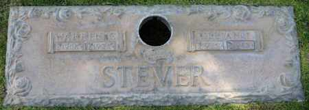 STEVER, WARREN G - Maricopa County, Arizona | WARREN G STEVER - Arizona Gravestone Photos
