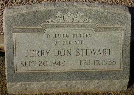 STEWART, JERRY DON - Maricopa County, Arizona | JERRY DON STEWART - Arizona Gravestone Photos